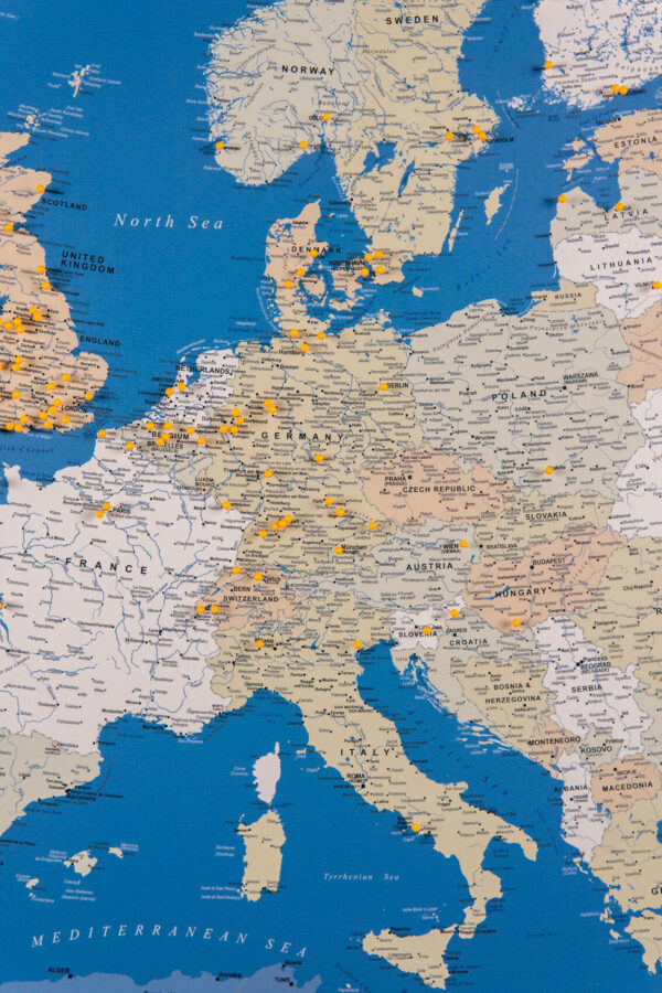 tripmapworld europe map with pins