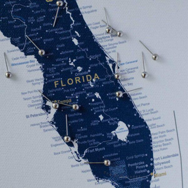 large usa map detailed