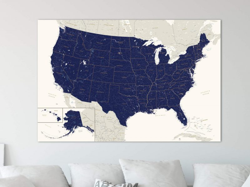 usa push pin travel map tripmap