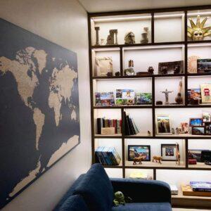 world-map-canvas-dark-blue-in traveller interior