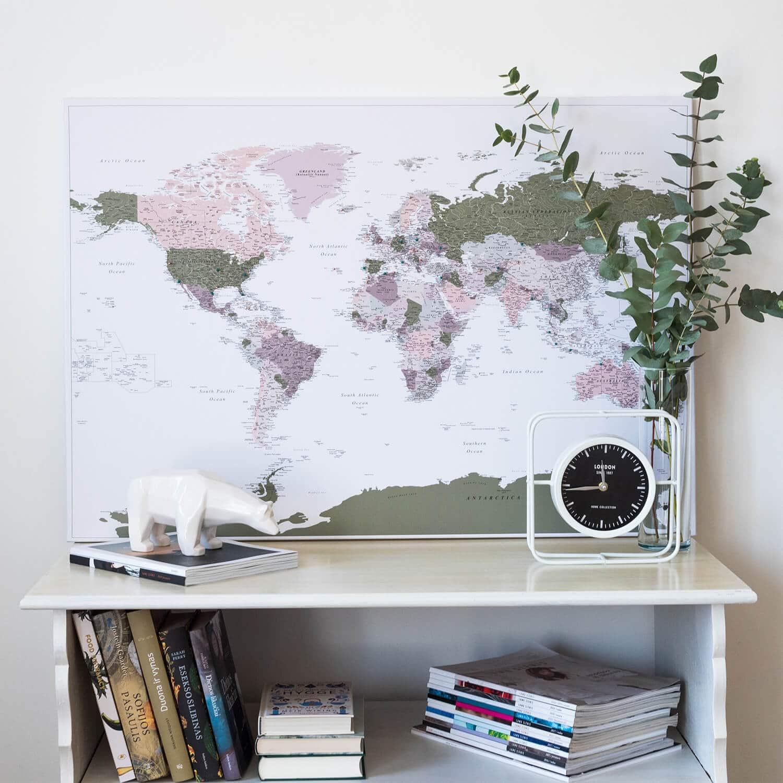 stylish world map ideas