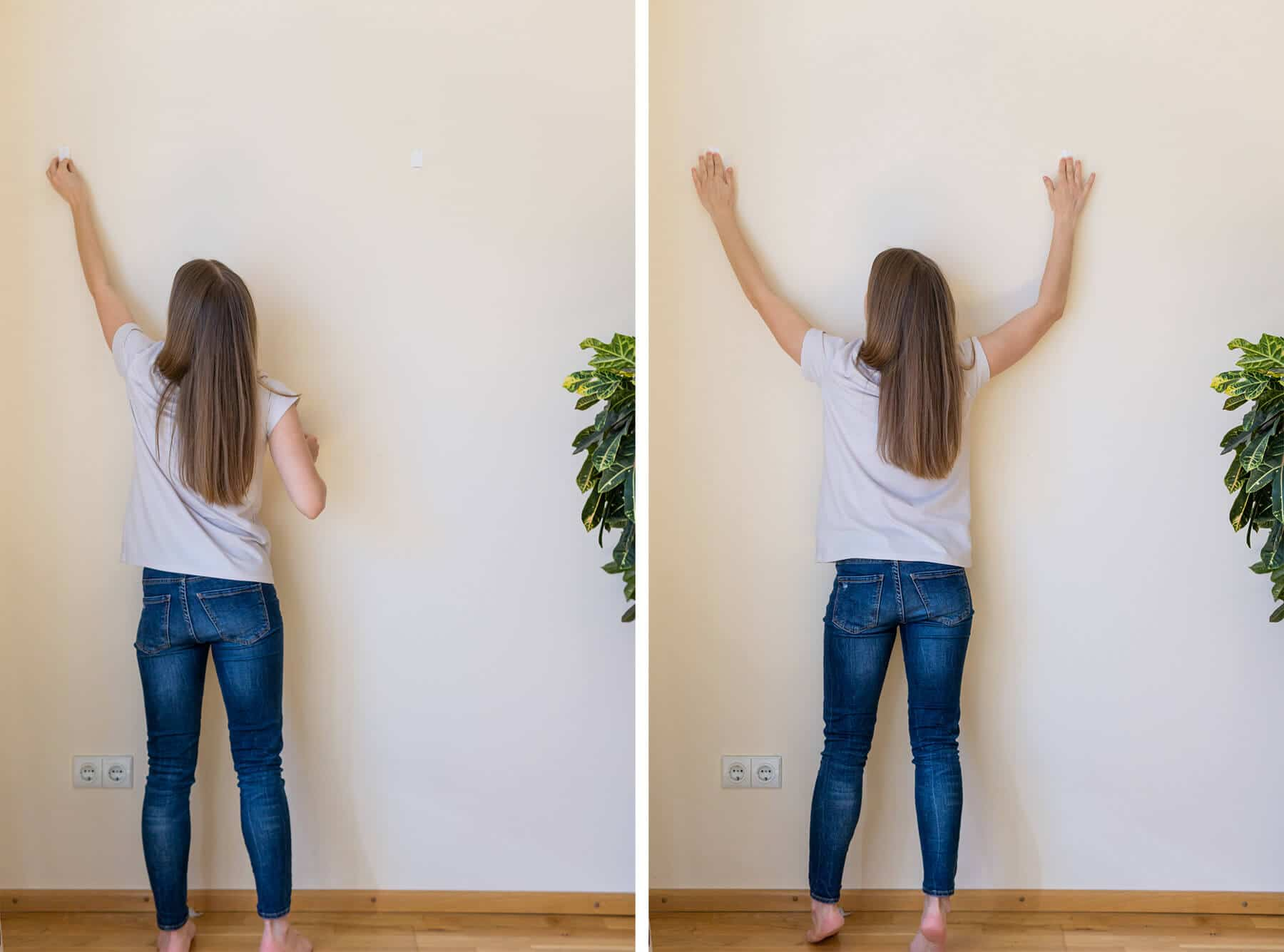 how to hang paiting at home