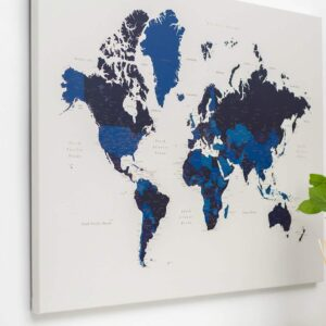 Art Map Of The World on