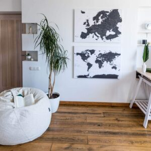 World-Europe-Canvas-Maps-Black-and-white-tripmapworld