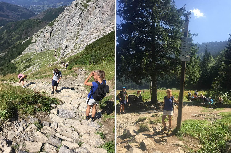best hiking trail in zakopane poland trip map