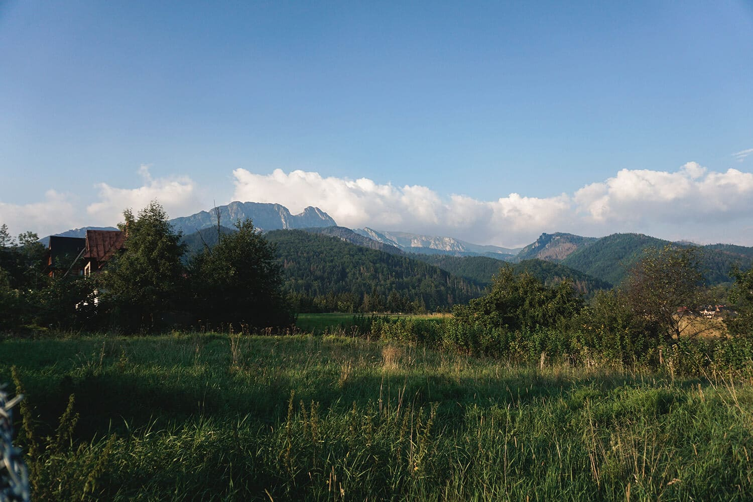 giewont from afar