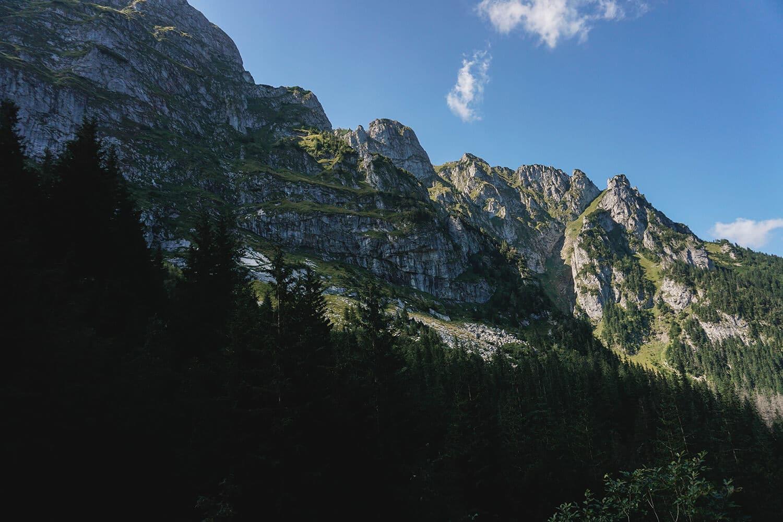 giewont view around hiking