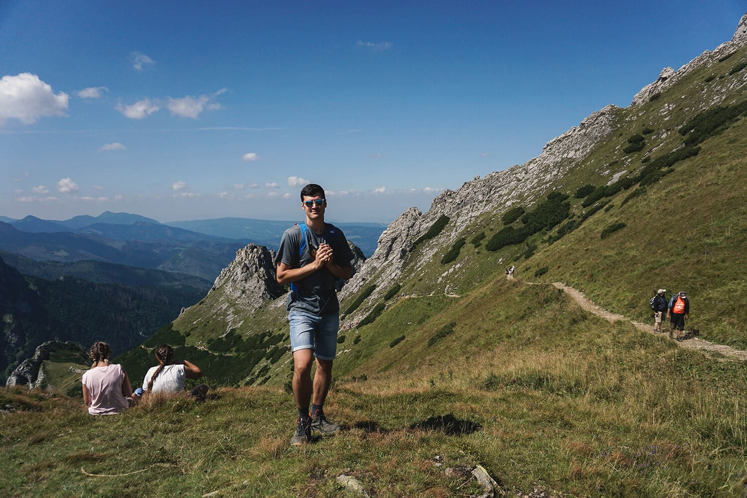 hiking giewont in poland