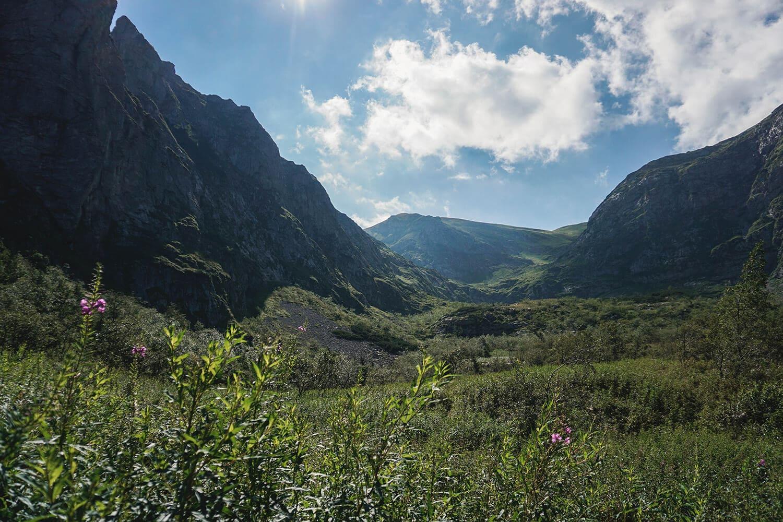 mountain landscape in poland