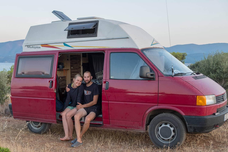 couple roadtrip in europe