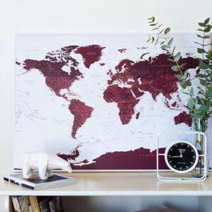 pin map world travel