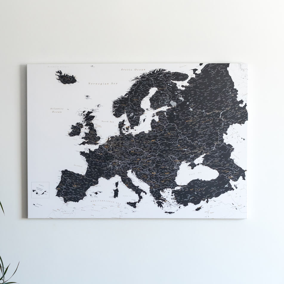 tripmapworld push pin canvas maps