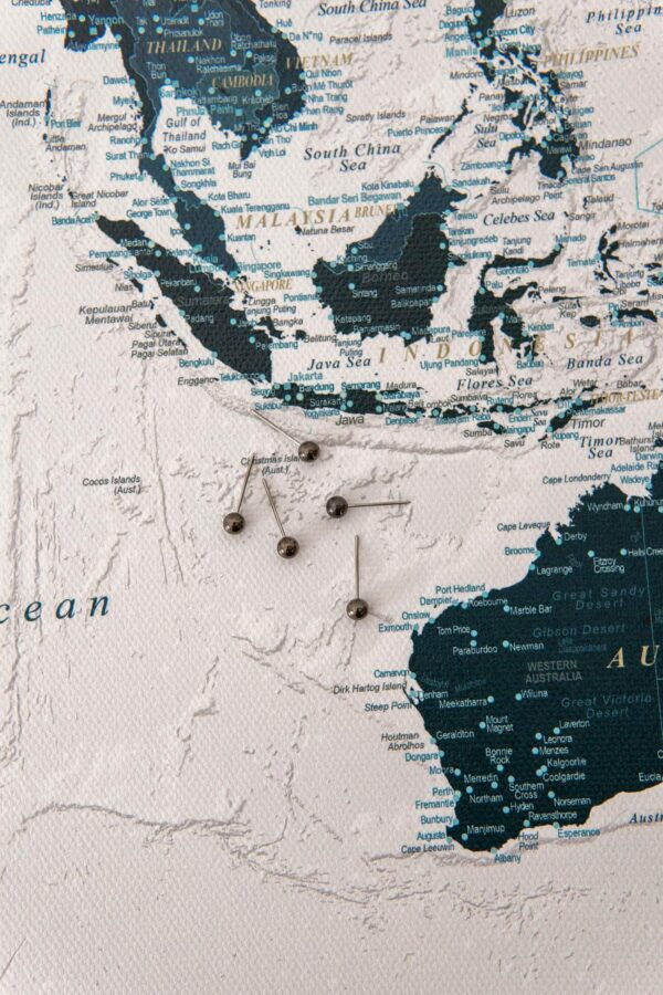 detailed-ocean-blue-canvas-world-map-with pins-tripmapworld