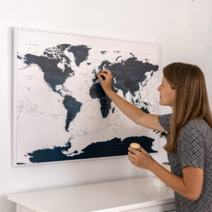 travel-map-ocean-blue-canvas-with pins-tripmapworld