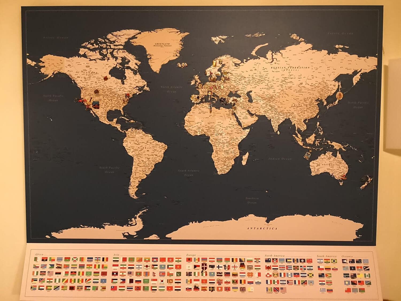 push pin map online