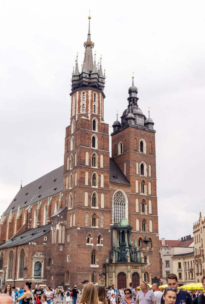 church in krakow