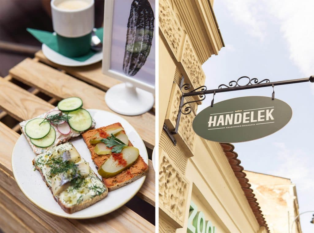 cofee in krakow handelek