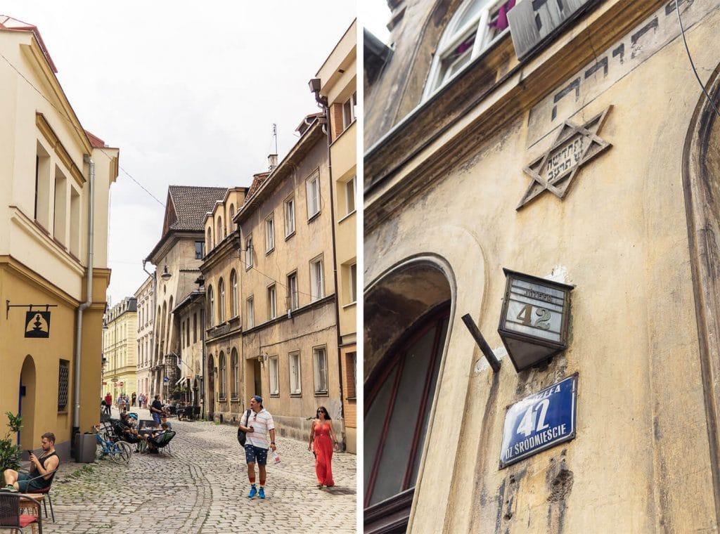 jewish street in krakow