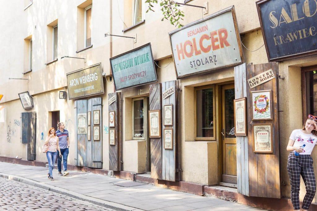 kazimierz district in krakow