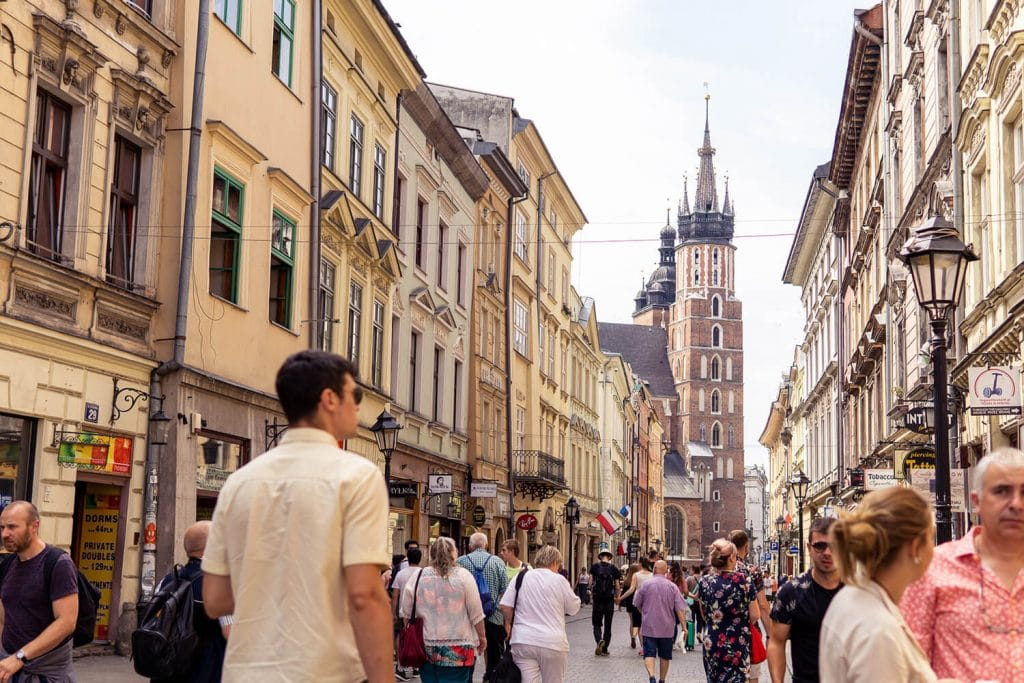 places to see in krakow old town