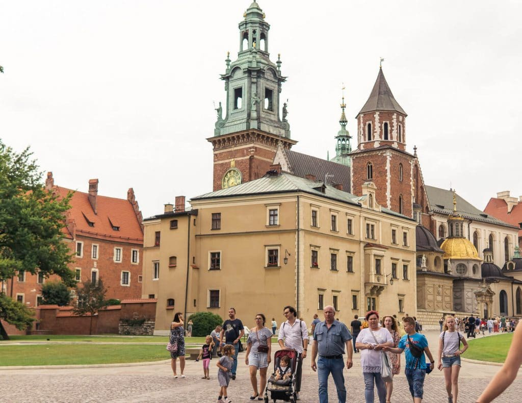 places to visit in krakow wawel hill