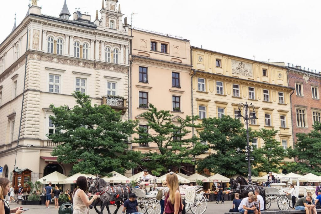 weekend trip to krakow