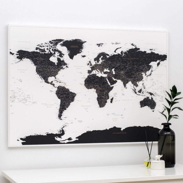 white-and-black-world-map-pushpin-tripmapworld