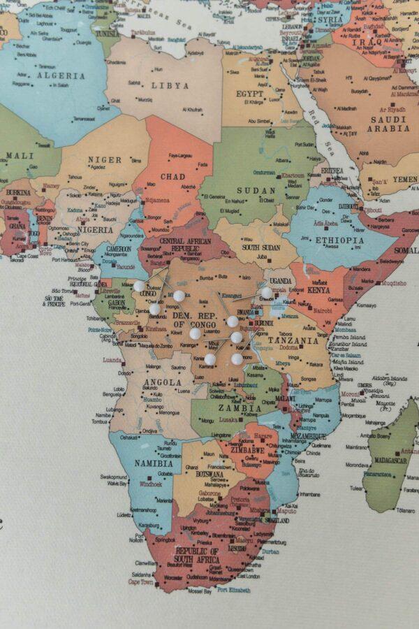 tripmapworld push pin map with pins