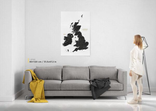 large-uk-push-pin-map